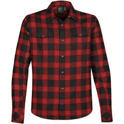 vaatteet Miehet Pitkähihainen paitapusero Stormtech Logan Black/Red Plaid