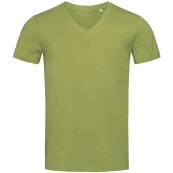 vaatteet Miehet Lyhythihainen t-paita Stedman Stars  Earth Green