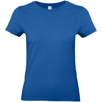 vaatteet Naiset Lyhythihainen t-paita B And C E190 Royal Blue