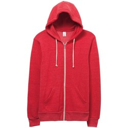 vaatteet Miehet Svetari Alternative Apparel Alternative Eco True Red