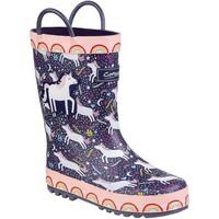 kengät Lapset Kumisaappaat Cotswold Sprinkle Purple Unicorn