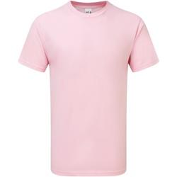 vaatteet Miehet Lyhythihainen t-paita Gildan H000 Light Pink