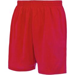 vaatteet Miehet Shortsit / Bermuda-shortsit Just Cool JC080 Fire Red