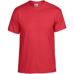 vaatteet Lyhythihainen t-paita Gildan DryBlend Red