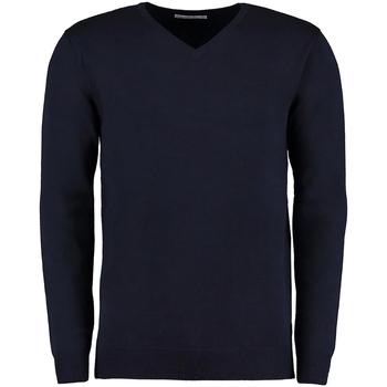 vaatteet Miehet Neulepusero Kustom Kit Arundel Navy Blue
