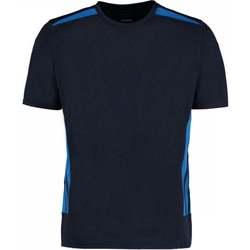 vaatteet Miehet Lyhythihainen t-paita Gamegear KK930 Navy/Electric Blue
