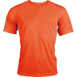 vaatteet Miehet Lyhythihainen t-paita Kariban Proact PA438 Flourescent Orange