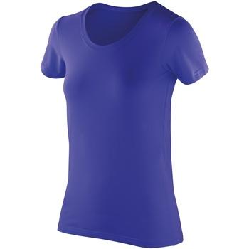 vaatteet Naiset Lyhythihainen t-paita Spiro SR280F Sapphire