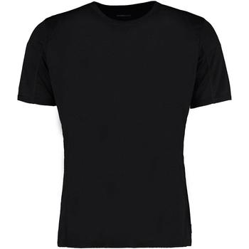 vaatteet Miehet Lyhythihainen t-paita Gamegear Cooltex Black/Black