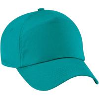 Asusteet / tarvikkeet Lapset Lippalakit Beechfield B10B Emerald