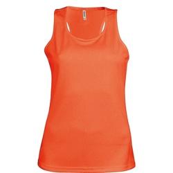 vaatteet Naiset Hihattomat paidat / Hihattomat t-paidat Kariban Proact Proact Fluorescent Orange