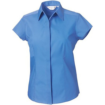 vaatteet Naiset Paitapusero / Kauluspaita Russell 925F Corporate Blue