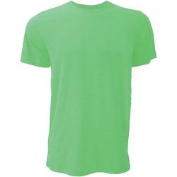 vaatteet Miehet Lyhythihainen t-paita Bella + Canvas CA3001 Heather Green