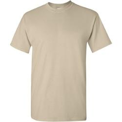 vaatteet Miehet Lyhythihainen t-paita Gildan Ultra Sand
