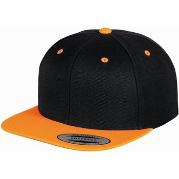 Asusteet / tarvikkeet Lippalakit Yupoong  Black/ Neon Orange