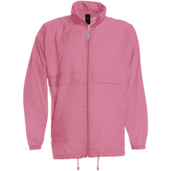 vaatteet Miehet Tuulitakit B And C JU800 Pixel Pink
