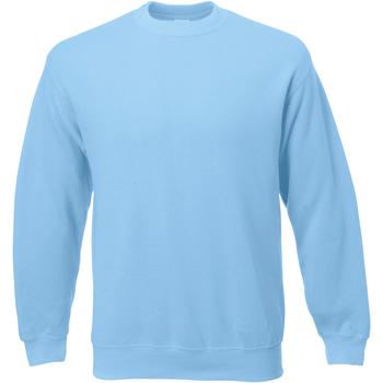 vaatteet Miehet Svetari Universal Textiles 62202 Light Blue