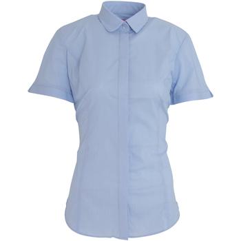 vaatteet Naiset Paitapusero / Kauluspaita Brook Taverner BK133 Sky Blue