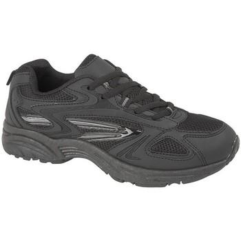 kengät Miehet Matalavartiset tennarit Dek Venus Black/Charcoal Grey