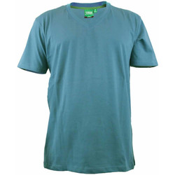 vaatteet Miehet Lyhythihainen t-paita Duke Signature-2 Teal