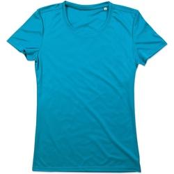 vaatteet Naiset Lyhythihainen t-paita Stedman  Hawaii Blue