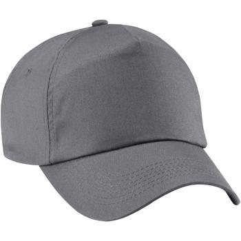 Asusteet / tarvikkeet Tytöt Lippalakit Beechfield B10B Graphite Grey