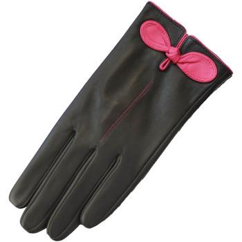 Asusteet / tarvikkeet Naiset Hanskat Eastern Counties Leather  Black/Fuchsia
