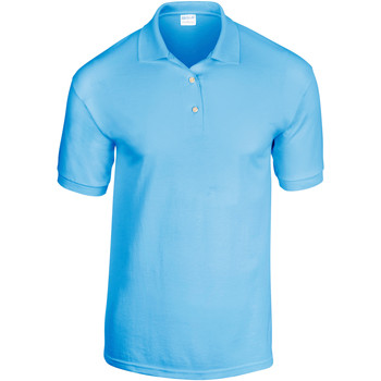 vaatteet Miehet Lyhythihainen poolopaita Gildan 8800 Light Blue