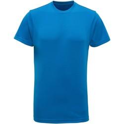 vaatteet Miehet Lyhythihainen t-paita Tridri TR010 Sapphire