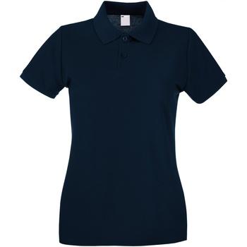 vaatteet Naiset Lyhythihainen poolopaita Universal Textiles 63030 Midnight Blue
