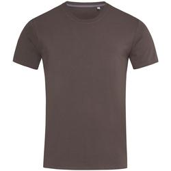 vaatteet Miehet Lyhythihainen t-paita Stedman Stars  Dark Chocolate Brown