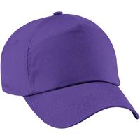 Asusteet / tarvikkeet Tytöt Lippalakit Beechfield B10B Purple