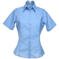vaatteet Naiset Paitapusero / Kauluspaita Kustom Kit K742F Light Blue
