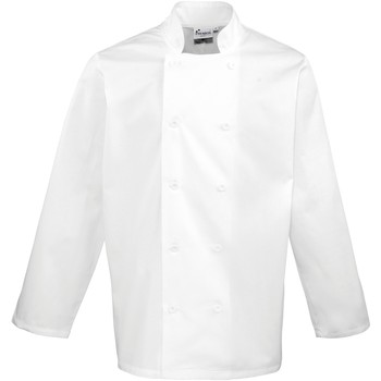 vaatteet Takit / Bleiserit Premier  White