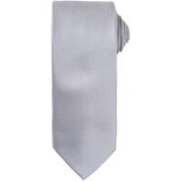 vaatteet Miehet Solmiot ja asusteet Premier PR780 Silver