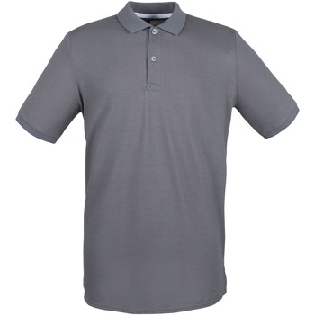 vaatteet Miehet Lyhythihainen poolopaita Henbury HB101 Steel Grey