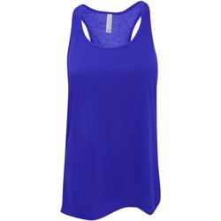 vaatteet Naiset Hihattomat paidat / Hihattomat t-paidat Bella + Canvas BE8800 True Royal