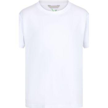 vaatteet Lapset Lyhythihainen t-paita Regatta RA011B White