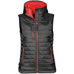 vaatteet Naiset Neuleet / Villatakit Stormtech PFV-2W Black/ True Red