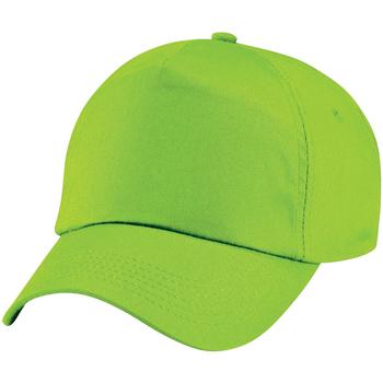 Asusteet / tarvikkeet Lapset Lippalakit Beechfield BC10B Lime Green