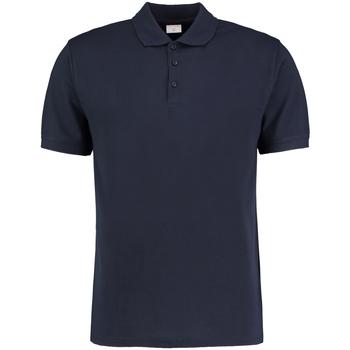 vaatteet Miehet Lyhythihainen poolopaita Kustom Kit KK413 Navy Blue