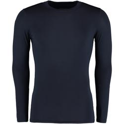 vaatteet Miehet T-paidat pitkillä hihoilla Gamegear Warmtex Navy Blue
