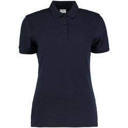 vaatteet Naiset Lyhythihainen poolopaita Kustom Kit KK213 Navy Blue