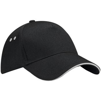 Asusteet / tarvikkeet Lippalakit Beechfield B15C Black/Light Grey