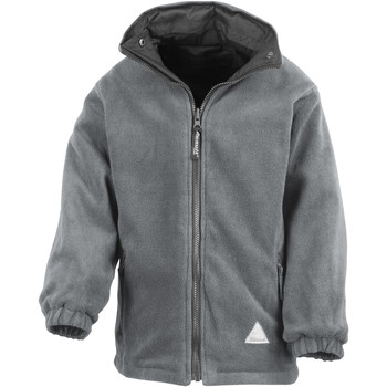 vaatteet Lapset Fleecet Result R160JY Black/Grey