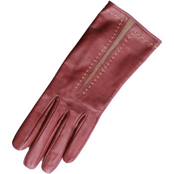 Asusteet / tarvikkeet Naiset Hanskat Eastern Counties Leather  Taupe/Oxblood