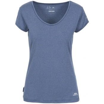 vaatteet Naiset Lyhythihainen t-paita Trespass Mirren Navy