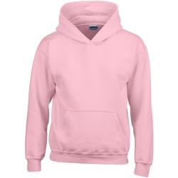 vaatteet Lapset Svetari Gildan 18500B Light Pink