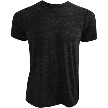 vaatteet Lyhythihainen t-paita Bella + Canvas CA3650 Black Marble