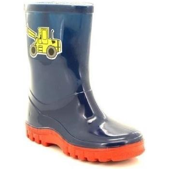 kengät Lapset Kumisaappaat Stormwells  Navy Blue/Red